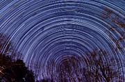 Startrails Prints - Arnold Startrails Print by Benjamin Reed