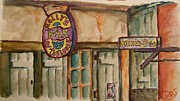 Mardi Gras Paintings - Around New Orleans by Elaine Duras