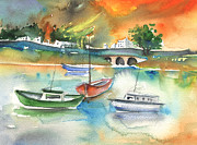 Lanzarote Paintings - Arrecife in Lanzarote 16 by Miki De Goodaboom