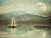 Fog At Sea Prints - Arrival Print by manhART