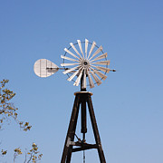 Old Town San Diego Photos - Arrow Windmill by Art Block Collections
