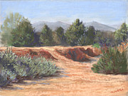 Morning Pastels - Arroyo Heat by Mary Olivera
