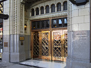 Spokane Framed Prints - ART DECO ENTRANCE to 1928 PAULSEN BLDG Framed Print by Daniel Hagerman