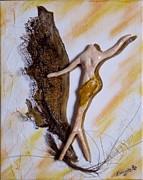 Art Deco I Print by Brenda Almeida-Schwaar