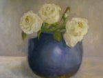 White Roses Originals - Art Deco Roses          copyrighted by Kathleen Hoekstra
