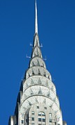 Nyc Digital Art Originals - Art Deco Skyscraper - The Chrysler Building by Emmy Marie Vickers