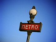 BERNARD JAUBERT - Art Deco subway entrance sign. paris