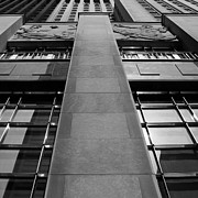 Bank Art Prints - Art Deco Tower 2 Print by Andrew Fare