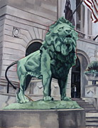 Chicago Landmark Paintings - Art Institute of Chicago by Rick Liebenow
