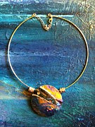 Resin Jewelry - Art Necklace by Jaanika Talts