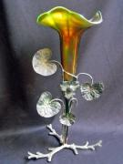 Art Nouveau Glass Art - Art nouveau aurene art glass by Anonymous
