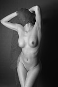 Nude Photography Framed Prints - Art Nude Photography NO.4 Framed Print by Falko Follert