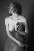 Nudes Acrylic Prints - Art Nude Photography NO.5 Acrylic Print by Falko Follert