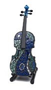 Violin Ceramics - Art of Music #3 by Reginald Charles Adams