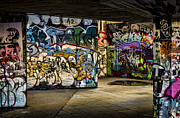 Hip Hop Photos - Art of the Underground by Heather Applegate