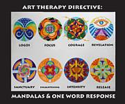 Anne Cameron Cutri - Art Therapy Directive Mandala
