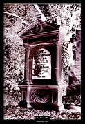 Art Of The Mystic Prints - Art Work 186 gravestone Print by Alexander Drum