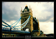 London England  Mixed Media - Art Work 228 Tower Bridge London by Alexander Drum