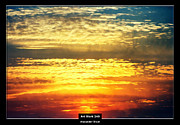 Cool Color Framed Prints Prints - Art Work 240 sunset Print by Alexander Drum