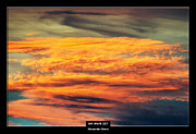 Cool Color Framed Prints Prints - Art Work 257 sunset Print by Alexander Drum