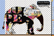 Children Licensing Metal Prints - Arte Bilingue - Bilingual Baby Metal Print by Anahi DeCanio