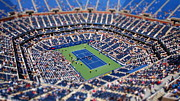 Ashe Photos - Arthur Ashe Stadium from High Angle by Mason Resnick