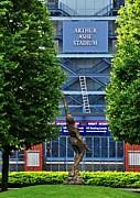 Arthur Ashe Stadium Print by Mike Martin