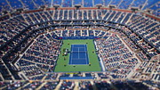 Ashe Photos - Arthur Ashe Stadium Special Effect by Mason Resnick