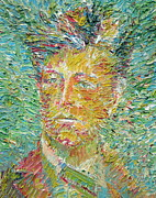 Picture Painting Originals - Arthur Rimbaud Oil Portrait by Fabrizio Cassetta