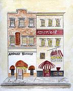 Greenwich Village Paintings - Arthurs Tavern - Greenwich Village by Lynn Lieberman