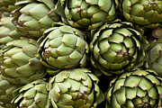 Groceries Framed Prints - Artichokes Framed Print by Kevin Miller