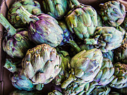 Supermarket Originals - Artichokes by Rafael Gonzalez