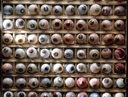 Eyeball Prints - Artificial Eyes  Disorders Print by Brooks Brown