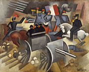 Famous Artists - Artillery by Roger de La Fresnaye