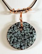 Artisan Murrini Glass Pendant Gm05281205 Print by P Russell