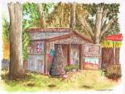 Gallery Art Paintings - Artisans-Gallery-in-Los-Olivos-CA by Carlos G Groppa