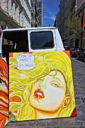 Artist With Attitude Print by Allen Beatty