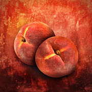 Angela Waye - Artistic Peach Fruit on...