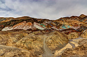 Panamint Valley Photos - Artists Paint Palette by Heidi Smith