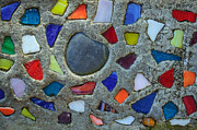 Terrie Heslop - Artsy Glass Chip Sidewalk