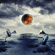Surreal Digital Art - ArtWork Untitled No.88 by Caio Caldas - CadiesArt