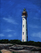 Aruba Prints - Aruba Light House Print by Paul Walsh