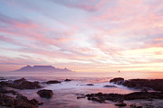 Table Bay Framed Prints - As the day ends Framed Print by Neil Overy