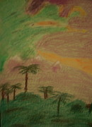 Storm Pastels - As the Storm Dies Down by Judith Moore