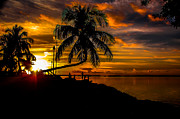 Isla Morada Prints - As the Sunsets Print by Rene Triay Photography