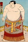 Japanese School - Asashio Toro a Japanese Sumo Wrestler