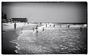 Asbury Framed Prints - Asbury Beach Fun Framed Print by John Rizzuto