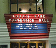 Bruce Springsteen Art - Asbury Park Convention Hall Marquee by Melinda Saminski
