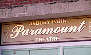 Bruce Springsteen Art - Asbury Park Paramount Theatre Sign by Melinda Saminski