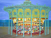 Asbury Park Yesteryear Print by Norma Tolliver